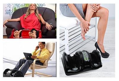 Массажер для ног Блаженство: преимущества