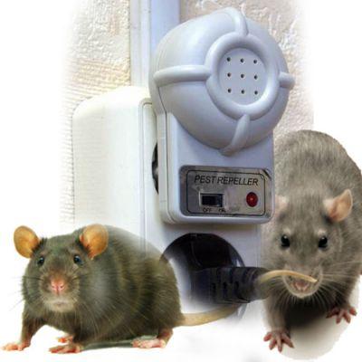 Ультразвуковой отпугиватель грызунов и насекомых DX-610.