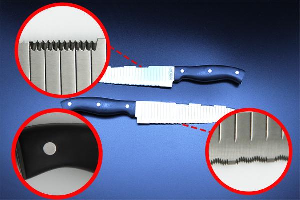 Характеристики набора ножей Монстр Шеф