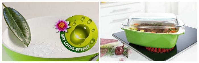 Керамическая посуда для запекания Биолюкс Ростер