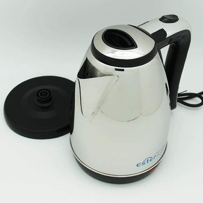Чайник электрический металлический Ester-9117