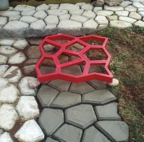 Формы для садовой дорожки: описание