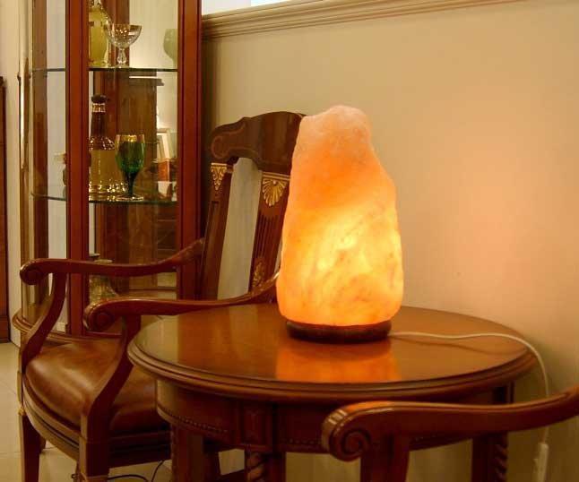 """солевая лампа """"скала"""""""