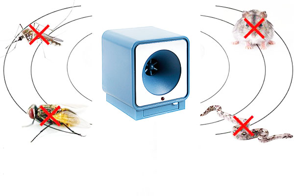 Ультразвуковой отпугиватель насекомых и грызунов UP-118: описание